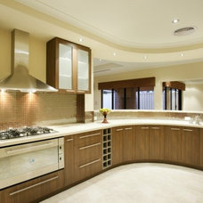 Modern Kitchen Cabinets by Jingzhi houseware manufacturer