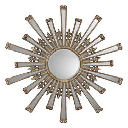 Paragon - Retro Starburst - Mirrors Decorative - Each product is custom made upon order so there might be small variations from the picture displayed. No two pieces are exactly alike.