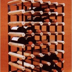 "Vinotemp - Cellar Trellis 40 Bottle Wine Rack - This well-crafted cellar trellis wine rack holds up to 40 bottles. A great use for any space, this unit can be used as a freestanding unit or as a module in a larger rack system. Features quality racks made of redwood and powder-coated metal to further prevent scrapes on your wine bottles. Features: -Redwood and powder-coated metal wine rack.-Top row allows for display of 5 bottles of wine.-Universal 3.75'' racking fits most bottles.-Product Type: Wine bottle rack.-Collection: Cellar Trellis.-Finish: Tan and Black.-Hardware Finish: Powered coated black metal.-Distressed: No.-Powder Coated Finish: Yes.-Material: Redwood and powder coated metal.-Hardware Material: Powered coated black metal.-Scratch Resistant: No.-Tarnish Resistant: No.-Mount Type: Floor.-Wine Bottle Capacity: 40.-Shelves Included: No.-Lighted: No.-Plug-In: No.-Removable Serving Tray Included: No.-Ice Bucket Included: No.-Wine Glass Storage Included: No.-Glasses Included: No.-Adjustable Levelers: No.-Stackable: Yes.-Foldable: No.-Removable Bottle Racks: No.-Commercial Grade Welding: Yes.-Bottle Size Compatibility: 750 mL.-Weight Capacity: 80 lbs.-Outdoor Use: No.-Commercial Use: No.-Recycled Content: No.-Eco-Friendly: No.-Product Care: Wipe clean with a dry cloth. Do not use strong or abrasive cleaners..-Country of Manufacture: United States.-Gloss Finish: No.-Solid Wood Construction: Yes.-Refrigerated Cabinet: No.-Mirrored Back: No.Specifications: -UL Listed: No.-cUL Listed: No.-ISTA 3A Certified: No.-ISO 9000 Certified: No.-ISO 14000 Certified: No.Dimensions: -Overall Height - Top to Bottom: 28"".-Overall Width - Side to Side: 20.25"".-Overall Depth - Front to Back: 11"".-Shelves: No.-Drawers: No.-Cabinets: No.-Overall Product Weight: 15 lbs.Assembly: -Assembly Required: Yes.-Tools Needed: No tools required.-Additional Parts Required: No.Warranty: -Product Warranty: No warranty."