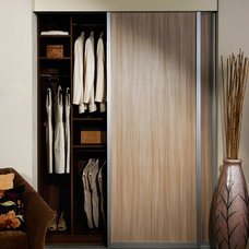 Modern Interior Doors by California Closets