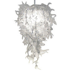 Contemporary Chandeliers by EcoFirstArt