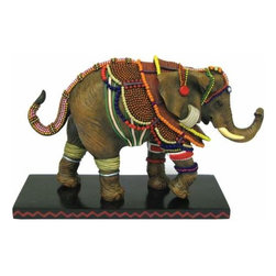 WL - 5 Inch Young Bride Decorated Elephant Collectible Figurine Statue - This gorgeous 5 Inch Young Bride Decorated Elephant Collectible Figurine Statue has the finest details and highest quality you will find anywhere! 5 Inch Young Bride Decorated Elephant Collectible Figurine Statue is truly remarkable.