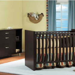 "PALI - Milano 3-in-1 Convertible Crib Set - A modern sensibility permeates every line of the sleek and sophisticated Milano Crib by Pali. This contemporary convertible poplar and ash crib will add sophistication to any nursery with its sleek design and modern look. The Milano panel crib blends understated simplicity with rich elegance and durable construction while using non toxic finishes for the safety of your baby. The simple design of this crib evokes the kind of timeless style that works especially well in a contemporary baby nursery. Features: -Milano collection. -Poplar and ash veneers construction. -3-in-1 Convertible design: can be used as a crib, toddler bed, and daybed. -Toddler guard rail included in the box. -Three-position orthopedic mattress support made of solid wood gives a baby's delicate spine the ideal support for a correct posture. -Mattress and bedding not included. -Complies with all crib standards required by CPSC (ASTM F1169 and 16CFR1508). -Finishes exceed lead and heavy metal content requirements required by CPSC (ASTM F963-07 and 16CFR1303). -Crib slats are 1.3"" width with a 0.47"" thickness. -Stationary crib with no dropside. -When it comes time to invest in furniture, Pali has manufactured an excellent product that will last for generations; when purchasing Pali furniture, you can be comfortable in the knowledge that you have made a lifetime investment for your child. Dimensions: -36"" H x 54"" W x 30"" D, 73 lbs. Pali's Commitment to a Greener Environment: Pali uses non toxic, lead-free water-based paints, only water-based glues, recycled cardboard for their packaging and techniques that minimize solvent emissions and surpass American standards. They also recycle all materials that cannot be reused. Therefore, Pali's commitment to a greener environment is a commitment to each and every one of their customers and the well-being of future generations. This is a NON-Drop Side crib"