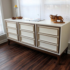 contemporary dressers chests and bedroom armoires by Revitalized Artistry