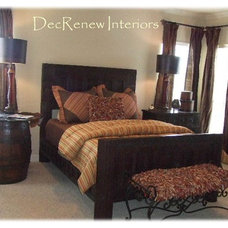 Eclectic Bedroom by DecRenew Interiors