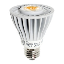 Lighting Sciences - 8 watt PAR20 Dimmable LED White Bulb with Medium Screw (E26) Base, 2700K - Are you looking for a reliable and affordable LED flood bulb to replace your incandescent bulbs from the 1980s? Well search no more because this little LED bulb will light up your life and make you happy. He packs quite a lighting punch using only 8 watts to replace up to 50 watts AND he is around for the long haul. Did we mention 50,000 hours rated life? That is about 17 years at 8 hours a day; or at least until your kids are done with college.
