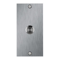 Waterwood - Medium Rectangle Stainless Steel Doorbell - Waterwood's Stainless Steel Medium Rectangle doorbell is a simple, classic modern design. It is elemental in nature, and