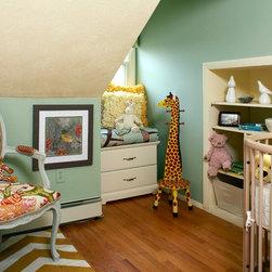 Quiet Nursery Paint Color - Pond -