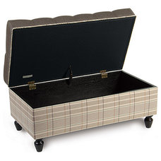 Accent And Storage Benches by Kathryn Interiors, Inc.