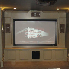 Traditional Home Theater by Warner Audio & Video