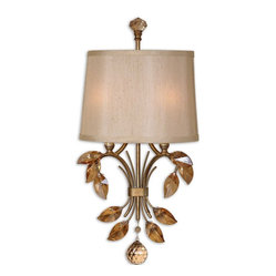 Alenya 2-Light Gold Wall Sconce