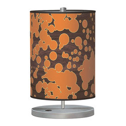 jefdesigns - Fizzy 2 Cylinder Table Lamp - Looking to add a little fizz to your decor? This compact, bubbly lamp would look eclectic and fun on your nightstand or side table.