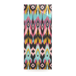 """Kess InHouse - Amanda Lane """"Bohotribal"""" Metal Luxe Panel (9"""" x 21"""") - Our luxe KESS InHouse art panels are the perfect addition to your super fab living room, dining room, bedroom or bathroom. Heck, we have customers that have them in their sunrooms. These items are the art equivalent to flat screens. They offer a bright splash of color in a sleek and elegant way. They are available in square and rectangle sizes. Comes with a shadow mount for an even sleeker finish. By infusing the dyes of the artwork directly onto specially coated metal panels, the artwork is extremely durable and will showcase the exceptional detail. Use them together to make large art installations or showcase them individually. Our KESS InHouse Art Panels will jump off your walls. We can't wait to see what our interior design savvy clients will come up with next."""