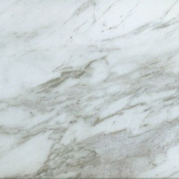 Olympian White Marble - The Marble in this photograph was chosen by and sold through Martha O'Hara Interiors. To inquire about the availability, coloring and pricing of the depicted marble please contact Martha O'Hara Interiors.