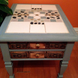 Mosaic End Table -