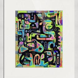 Kourosh Amini - Original Art Works By Kourosh Amini, Butan Archipelego - Artist: Kourosh Amini
