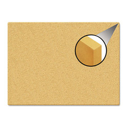 """The Board Dudes - The Board Dudes Canvas Cork Board, 35""""x23"""", Unframed Cork - Maximize your tacking area with this frameless cork board. Put one, two, or as many as you need together to make a custom-sized bulletin board area. Cork material wraps canvas-like around a 2 thick frameless board to create a clean, contemporary finished edge. Extra durable and easy to hang."""