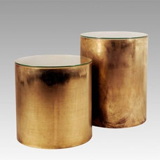 Pebble Side Table - B.I. MADE IN GERMANY COLLECTION by Birgit Israel | BRASS COL