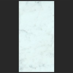 Stone & Co - Bianco Carrara 12x24 Honed Marble Tile - The Bianco Carrara collection or white Carrara Collection allows you to play with colors for your interior. Besides getting a lovely option of pure white on tile, this collection also features a white grey hue to try. With these two colors you can create a modern or classic looking theme in your home according to preference.Any plain looking house has a chance of being tweaked up by the right size and color in the Bianco Carrara or White Carrara collection. There is sophisticated inspiration about these tiles which will complement your high end European furniture, state of the art kitchen or a modernly designed bathroom. The possibilities of playing with size and color gives you an advantage of trying different options before deciding what suits you best.The Bianco Carrara floor tile collection not only upgrades your home, the ambience it creates speaks volume about your personality as well. Do you want your guests to go wow each time they walk into your home? Bianco Carrara collection is the renovation you are looking for!This collection is the answer to making your living room, kitchen or bathroom posh looking. The tiles are tough and durable, and we have the best experts to help you install the tiles.