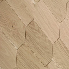 Contemporary Wood Flooring by Curved Flooring