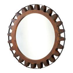 Cyan Design - Cyan Design Lighting Landry Mirror - Cyan Design 04911 Landry Mirror