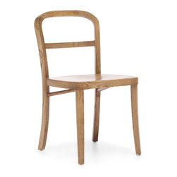 ZUO ERA - Fillmore Chair Natural (set of 2) - Style doesn't have to mean grandiose. This understated solid elm chair may be minimalistic but it's got character. It's sturdy, good-looking and comes in three different finishes. Sometimes simple is best.
