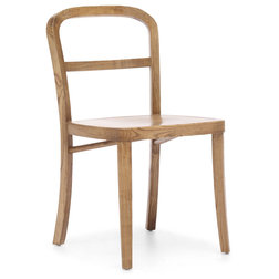 Rustic Dining Chairs by Zuo Modern Contemporary