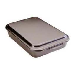 Nordic Ware - Nordic Ware Natural Bakeware Aluminum 9 x 13 in. Classic Baking Pan with Lid Mul - Shop for Bakeware from Hayneedle.com! The Nordic Ware 46320 Natural Bakeware Aluminum 9 x 13 in. Classic Baking Pan with Lid is a great way to bake and go. This pan includes a metal lid which lets you take a dish straight out of the oven and then cover it for storage or transport. The pan is made from commercial-quality un-coated aluminum and is rust- and warp-proof. It heats evenly resisting hot spots and resulting in a better quality result. It measures 15.75L x 9.75W x 3.13H inches and comes complete with a lifetime manufacturer's warranty against defects.About Nordic Ware.Founded in 1946 Nordic Ware is a family-owned American manufacturer of kitchenware products. From its home office in Minneapolis Minn. Nordic Ware markets an extensive line of quality cookware bake ware microwave and barbecue products. An innovative manufacturer and marketer Nordic Ware is best known for its Bundt Pan. Today there are nearly 60 million Bundt pans in kitchens across America.The Nordic Ware name is associated with the quality dependability and value recognized by millions of homemakers. The company's extensive finishing technology and history of quality innovation and consistency in this highly technical and specialized area makes it a true leader in the industrial coatings industry.Since founding Nordic Ware in 1946 the company has prided itself on providing long-lasting quality products that will be handed down through generations. Its business is firmly rooted in the trust dedication and talent of its employees a commitment to using quality materials and construction a desire to provide excellence in service to customers and never-ending research of consumer needs.