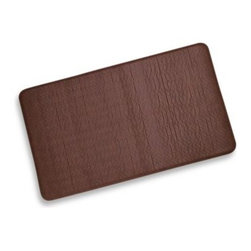 Imprint - Imprint Cobblestone Anti-Fatigue Comfort Mat in Toffee - Imprint anti-fatigue comfort mats are manufactured using proprietary eco9 technology that is environmentally-friendly by being, non-toxic and made without the use of toxic, heavy metals.