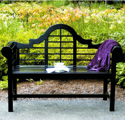 Mediterranean Outdoor Stools And Benches by Woodland Direct
