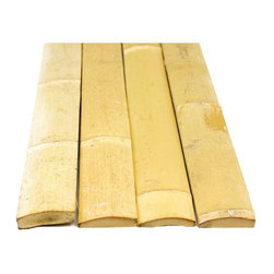 Backyard X-scapes - Backyard X-Scapes Natural Bamboo Slats - 25 Pack Light Brown - BS25 - Shop for Fencing and Fencing Materials from Hayneedle.com! Enliven any space with the Backyard X-Scapes Natural Bamboo Slats - 25 Pack. This environmentally friendly design alternative offers a wide array of construction and style options. The 100-percent natural bamboo has been a construction staple for thousands of years due to its regenerative properties. Suitable for adorning furniture accent walls or even constructing your own tiki bar these handsome bamboo slats bring tropical style to any space indoors or out.About Backyard X-ScapesBackyard X-Scapes was founded in 2000 to provide an escape from busy everyday life and help people relax in their very own backyards. Backyard X-Scapes specializes in creating peaceful environments and breathtaking landscapes with planet-friendly products created from renewable resources. Garden ponds water fountains palapas gazebos thatched umbrellas bamboo products artificial grass and other landscaping products all contribute to a soothing experience.