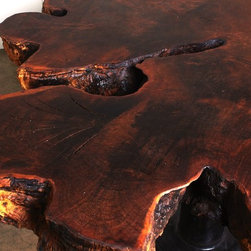 "Dining Table - Natural Design Wood - ""Update your style. Keep your roots."""