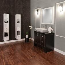 Contemporary Bathroom Vanities And Sink Consoles by LACAVA