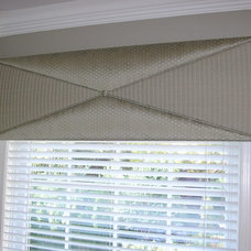 Contemporary Window Treatments by Window and Fabric Works