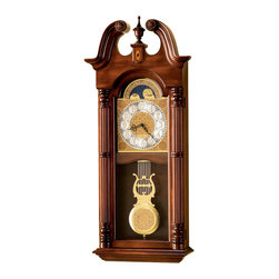 Howard Miller - 620226 Howard Miller Dual Chime Grandfather Wall Clock | MAXWELL - 620226 Maxwell