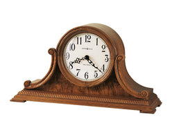 Howard Miller - Howard Miller Oak Dual Chime Mantel Clocks | ANTHONY - 635113 ANTHONY