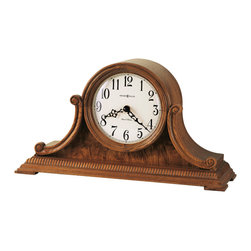 Howard Miller - Howard Miller Oak Dual Chime Mantel Clocks | ANTHONY - 635113 ANTHONY