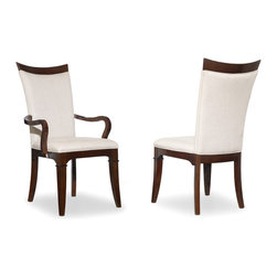 Hooker Furniture - Hooker Furniture Palisade Upholstered Side Chair 5183-75410 - If you embrace modern style but still revere traditional design, and if you seek a contemporary flair but appreciate classic beauty, then the Palisade collection offers you the best of both worlds.