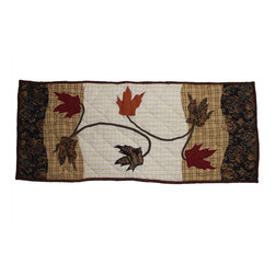 Patch Magic - Autumn Leaves Table Runner- Extra Small - 38 in. L x 16 in. W