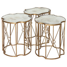 Transitional Coffee Table Sets by Kathy Kuo Home