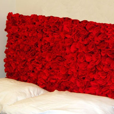 Eco Friendly Furnture and Lighting - Individually hand sewn felt flowers. Felt is made of 100% recycled plastic bottles.