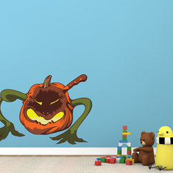 Halloween Vinyl Wall Decal HalloweenUScolor004; 72 in. - Vinyl Wall Decals are an awesome way to bring a room to life!