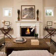 Traditional Living Room by J.Banks Design Group