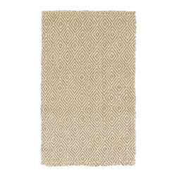 "Surya - Surya Reeds REED-807 (Tan, Winter White) 3'3"" x 5'3"" Rug - This Hand Woven rug would make a great addition to any room in the house. The plush feel and durability of this rug will make it a must for your home. Free Shipping - Quick Delivery - Satisfaction Guaranteed"