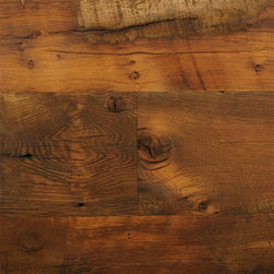 Unfinished Reclaimed Antique Oak - Unfinished Reclaimed Antique Oak Flooring