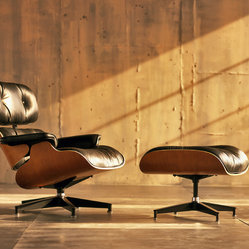 Eames Lounge Chair and Ottoman - An Eames lounge chair conjures memories of Frasier reruns. Place one in your office, library or anywhere you please — you've earned it if you can afford it.
