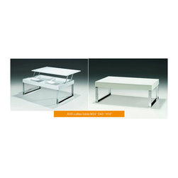 ESF Furniture - J030 White Lift Top Coffee Table - ESF Furniture - Practicality and beauty is exemplified in the J030 White Lift Top Coffee Table by ESF Style collection. This coffee table is a great find for any modern home.