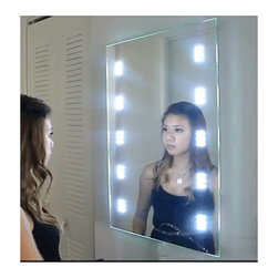 LED Bathroom Mirror - This is a screen capture taken from our video that can be found on youtube, if you would like to see the video please visit our website or click on the link https://www.youtube.com/watch?v=x7YF6qOam1o