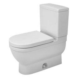 Duravit - Duravit - Two-Piece Toilet Starck 3 white - 2125010000 - Starck3 Series