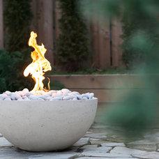 Contemporary Fire Pits by Dekko Concrete Decor